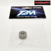 T2M pignon 18T en aluminium : T4922/70A