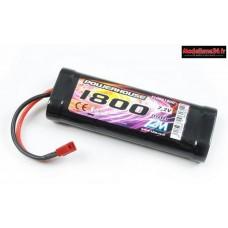 Batterie Ni-MH 7.2V 1800mAh Dean  : T1006180D