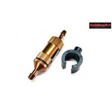 T2M Filtre à essence brun 1/8 : T4960/128