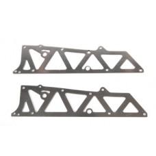 T2M Flancs de chassis A Alu : T4948/67