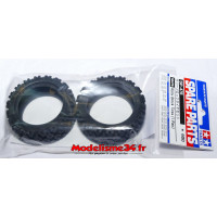 Tamiya Pneus rally block 26mm : 50476