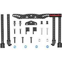 Tamiya Support avant carbone TT01E : 54059