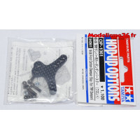 Tamiya Support amortisseurs carbone avant M06 : 54361
