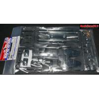 Tamiya Grappe H chromée pour racing truck : 54828