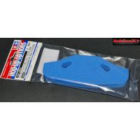 Tamiya Pare-choc mousse bleu pour chassis TT-01 / TT-02 : 53683
