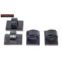 Fixations câbles 3M clipsables ( 4 pièces ) : m294