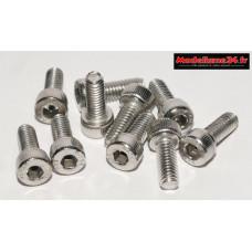 Vis CHC M4x10 têtes cylindriques ( 10pcs ) : m1472