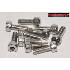 Vis CHC M4x12 têtes cylindriques ( 10pcs ) : m1473