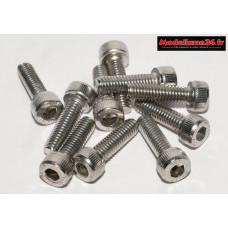 Vis CHC M4x14 têtes cylindriques ( 10pcs ) : m1474