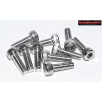 Vis CHC M2,5x10 têtes cylindriques ( 10pcs ) : m1539