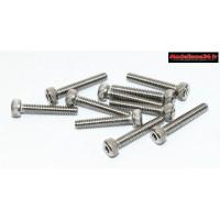 Vis CHC M2x12 têtes cylindriques ( 10pcs ) : m1543
