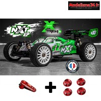 Buggy 1/8 HobbyTech Spirit NXT electrique version Xtrem + kit bonus  : 1.NXT.EP-XTREM