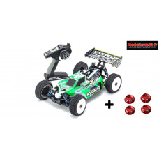 Kyosho Inferno MP9e EVO V2 brushless EP readyset avec bonus : 34111B