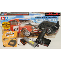Combo luxe complet Tamiya Volkswagen Beetle Rally kit MF-01X