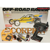 Combo luxe complet Kyosho Scorpion 1/10 2wd kit legendary séries.