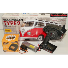 Combi luxe complet Tamiya VW combi type 2 (T1) 1/10 kit M-06L