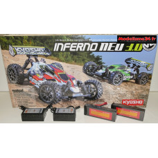 Combo 2x2s Kyosho Inferno NEO 3.0 VE brushless RTR