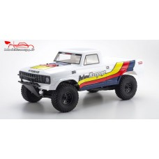 Kyosho Outlaw Rampage 1/102wd truck blanc RTR - K.34361T1B