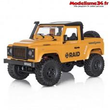 Funtek 4x4 Raid version 2 jaune RTR - FTK-RAID2-YE