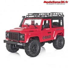 Funtek 4x4 Raid version 1 rouge RTR - FTK-RAID1-RD