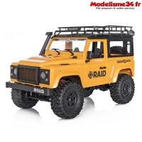 Funtek 4x4 Raid version 1 jaune RTR - FTK-RAID1-YE